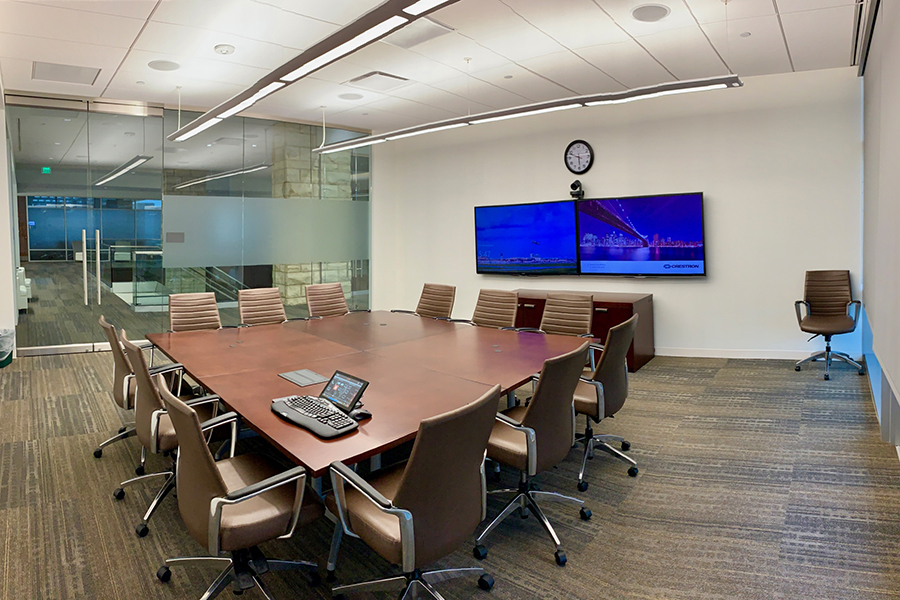 We offer custom design and installation services for all your conferencing and collaboration needs from huddle rooms to large learning spaces. Connectivity, conferencing, and control are at your fingertips for an intuitive user experience.